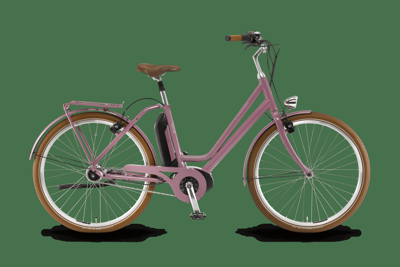 fahrrad Saya Retro Aubergine