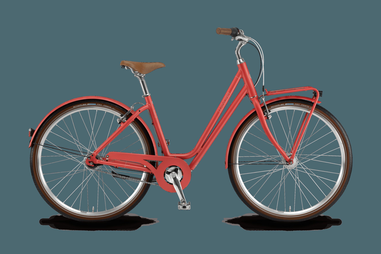 fahrrad comfort rot